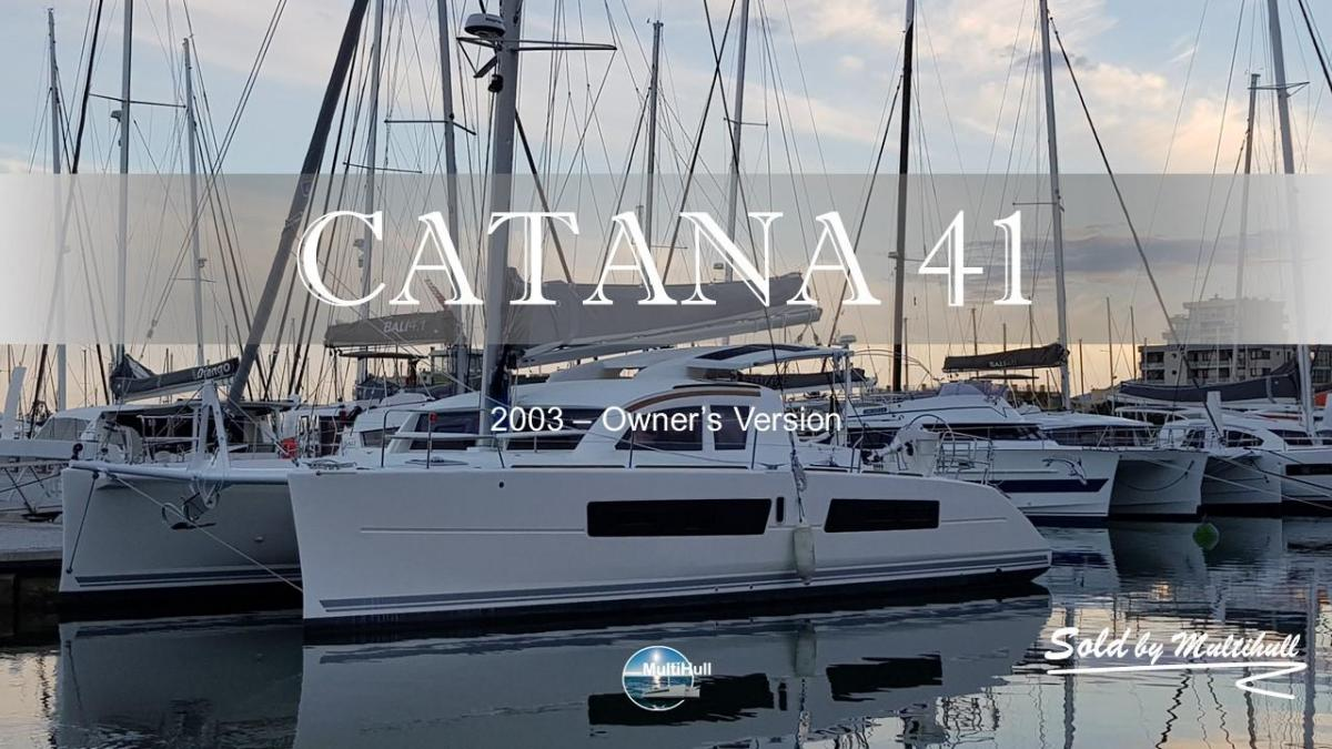 Sold by multihull catana 41 2008 owner s version