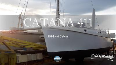 Sold by multihull catana 411 1994