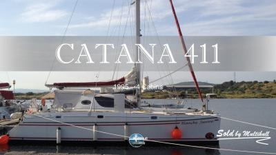 Sold by multihull catana 411 1995 4 cabines