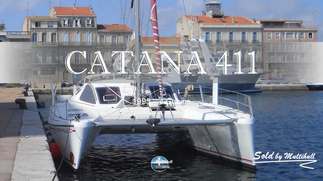 Sold by multihull catana 411 1995 4 cabins