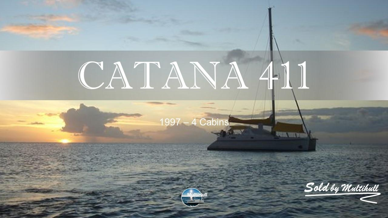 Sold by multihull catana 411 4 cabins