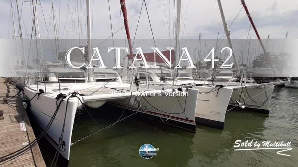 Sold by multihull catana 42 2010 owner s version