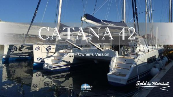 Sold by multihull catana 42 2011 owner s version 2
