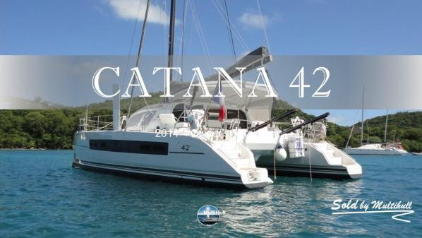 Sold by multihull catana 42 2014 owner s version 1