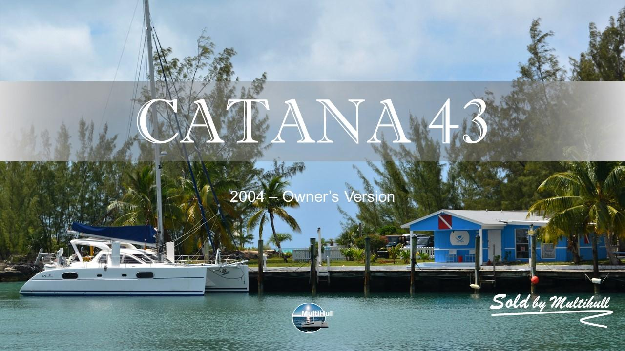 Sold by multihull catana 43 2004 owner s version