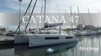 Sold by multihull catana 47 2009 4 cabines