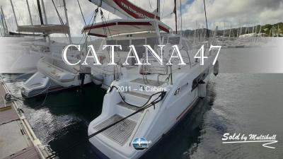 Sold by multihull catana 47 2011 4 cabines