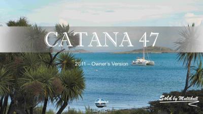 Sold by multihull catana 47 2011 owner s version