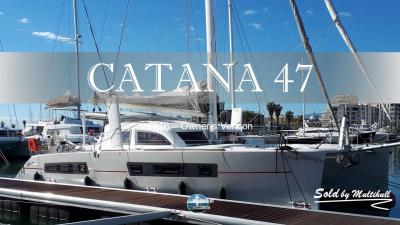 Sold by multihull catana 47 2016 owner s version