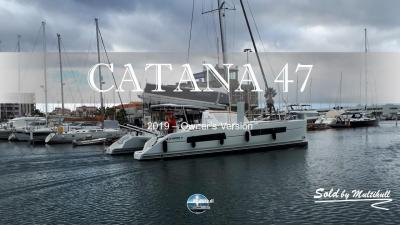 Sold by multihull catana 47 2019 owner s version