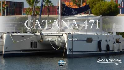 Sold by multihull catana 47 owner s version 2005