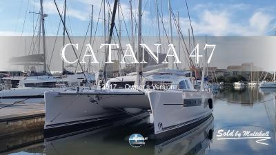 Sold by multihull catana 47 owner s version 2017