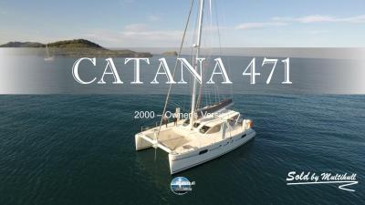 Sold by multihull catana 471 2000 owner s version 1