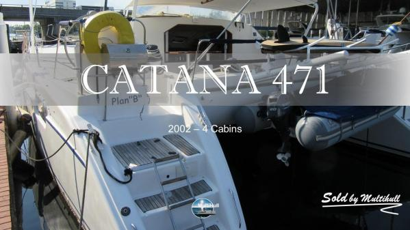 Sold by multihull catana 471 2002 4 cabins