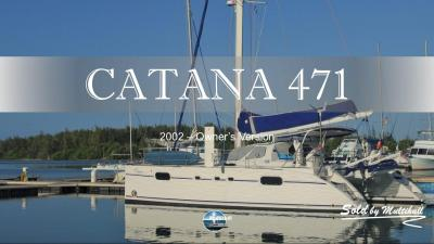 Sold by multihull catana 471 2002 owner s version