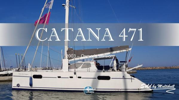 Sold by multihull catana 471 2003 owner s version