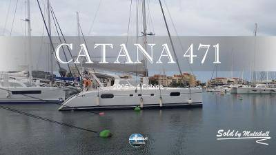 Sold by multihull catana 471 2005 4 cabins