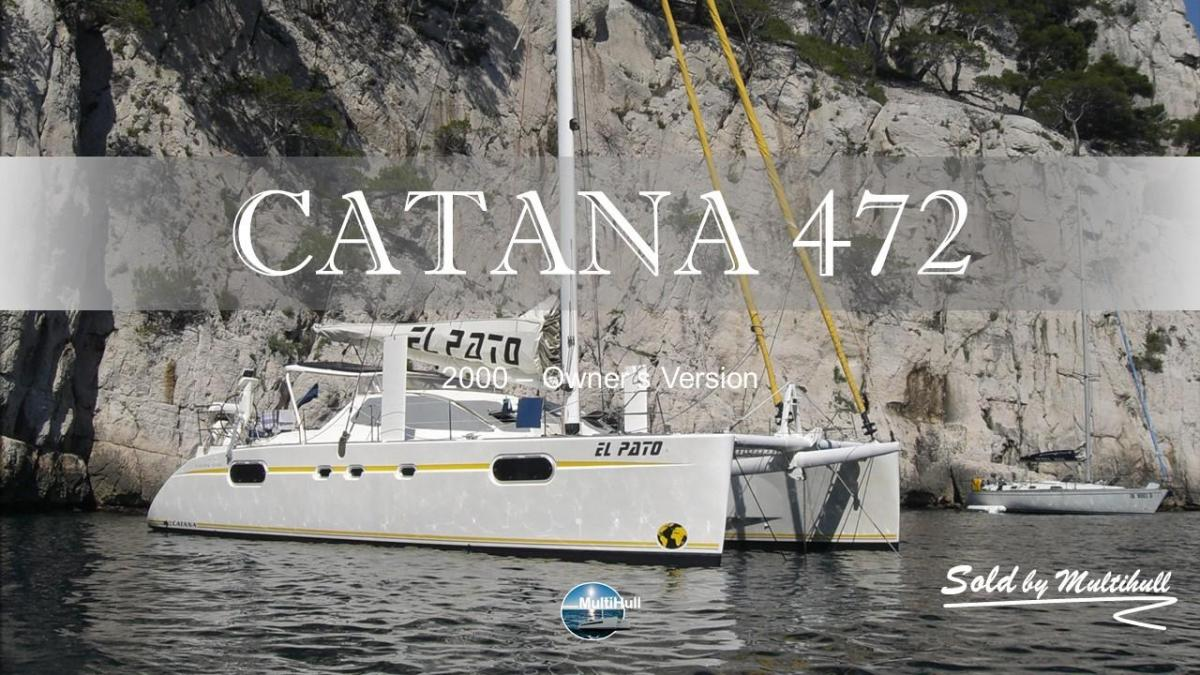 Sold by multihull catana 472