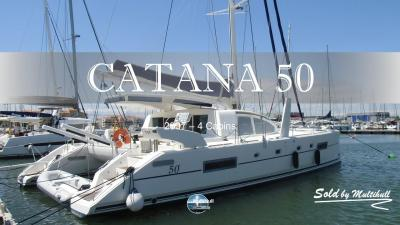 Sold by multihull catana 50 2007 4 cabines