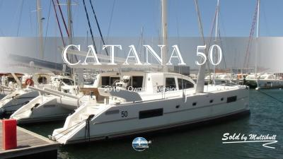 Sold by multihull catana 50 2010 owner s version