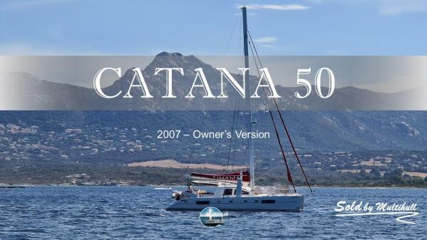 Sold by multihull catana 50 owner s version 2007