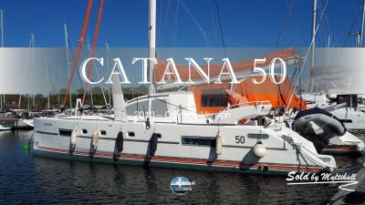 Sold by multihull catana 50 owner s version 2010