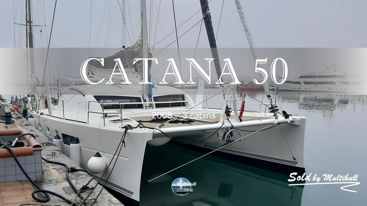 Sold by multihull catana 50 zan