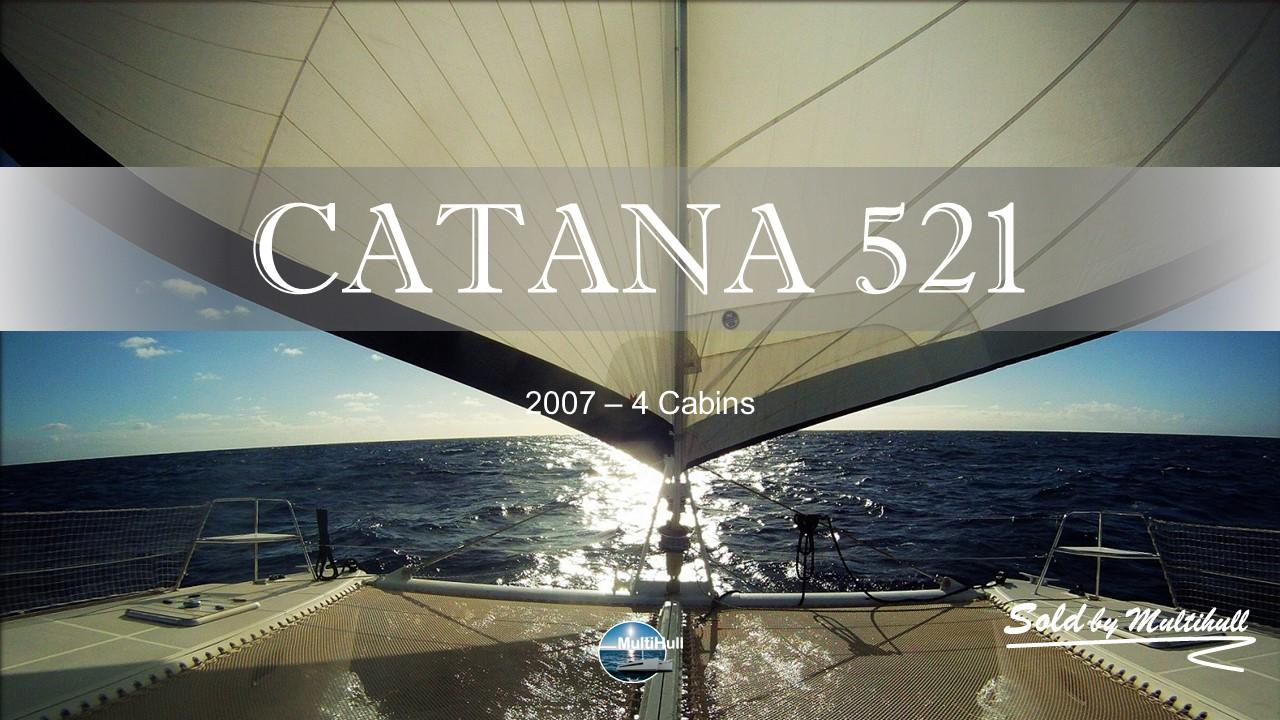 Sold by multihull catana 521