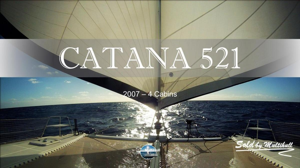 Sold by multihull catana 521