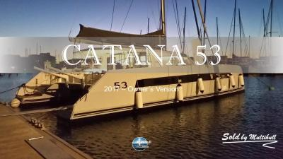 Sold by multihull catana 53 owner s version 2017