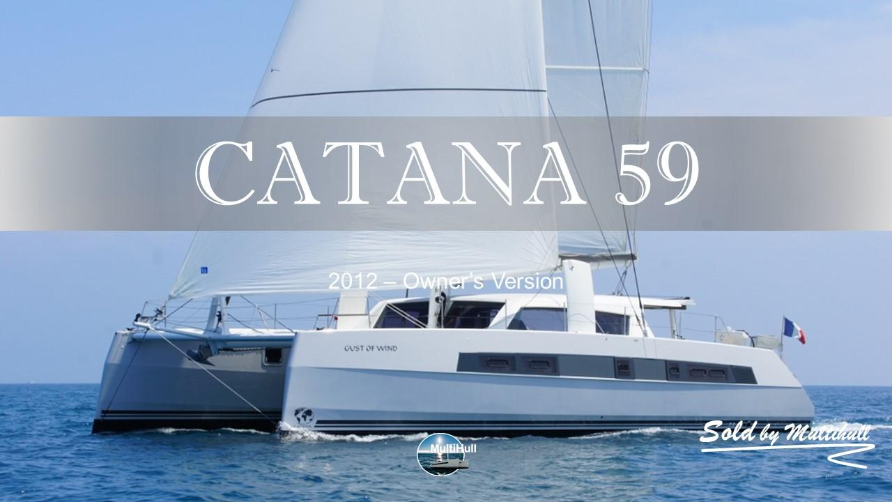 Sold by multihull catana 59 owner s version