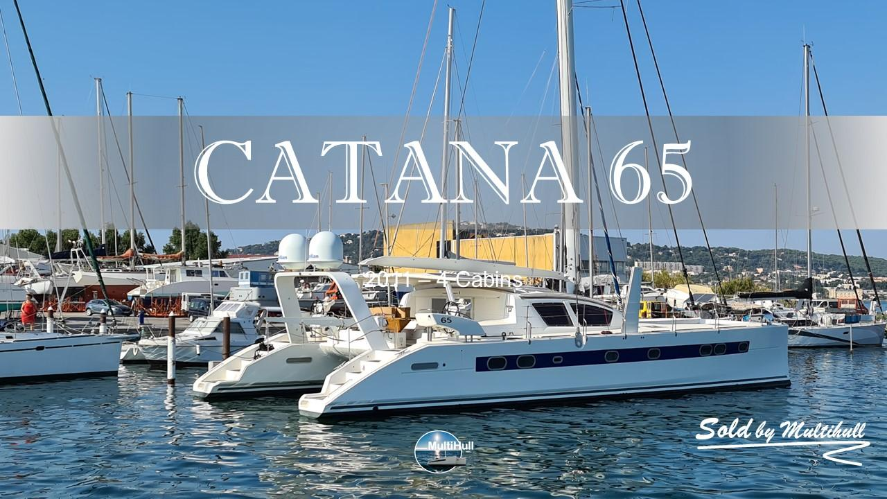 Sold by multihull catana 65 2011 4 cabins 1