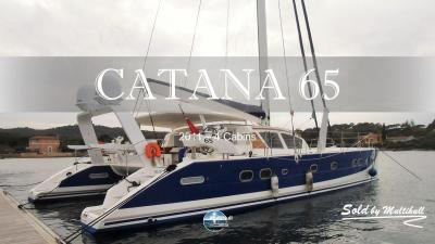 Sold by multihull catana 65 2011 4 cabins