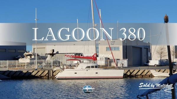 Sold by multihull lagoon 380 2001