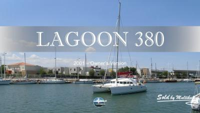 Sold by multihull lagoon 380s1 2001 owner s version