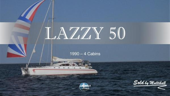 Sold by multihull lazzy 50 1990