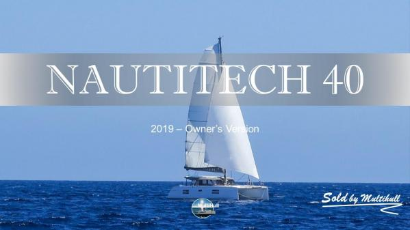 Sold by multihull nautitech 40 2019