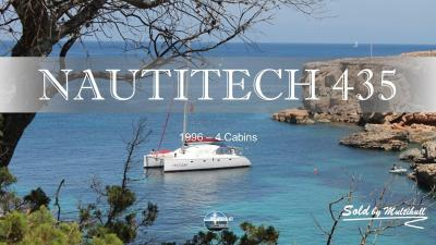 Sold by multihull nautitech 435 1996 4 cabines