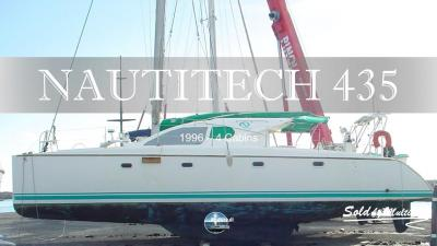 Sold by multihull nautitech 435 1996 4 cabins