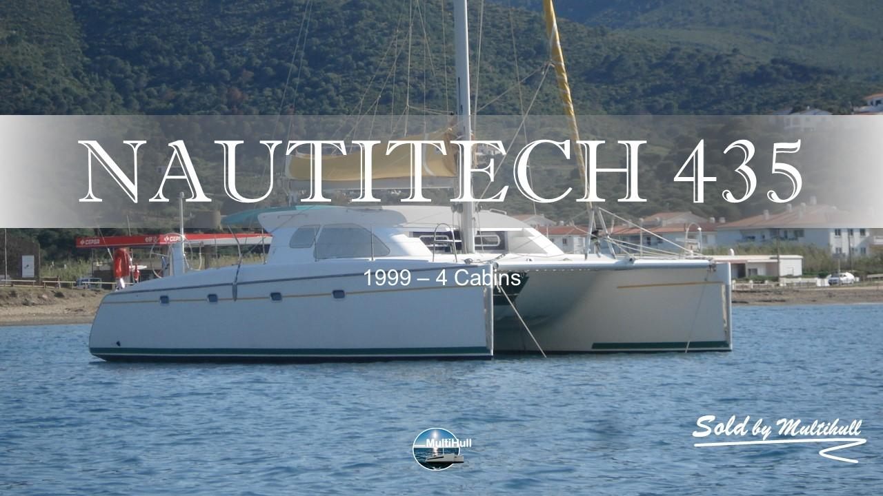 Sold by multihull nautitech 435 1999 4 cabins 1