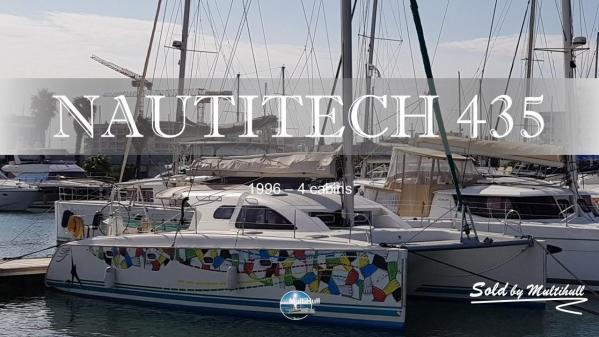 Sold by multihull nautitech 435 4 cabines 1996