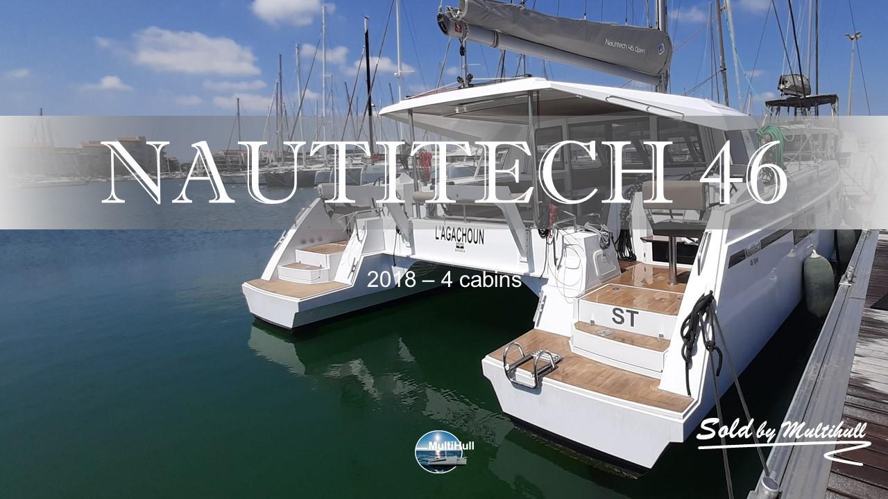 Sold by multihull nautitech 46 open