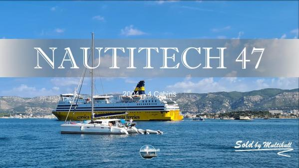 Sold by multihull nautitech 47 2004