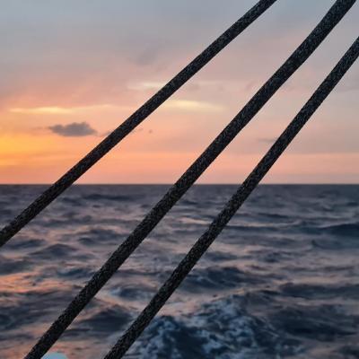 Sunset on the Mediterranean Sea