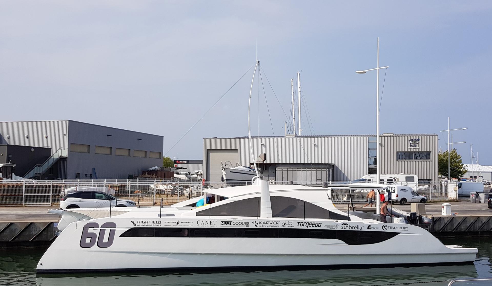 V yacht
